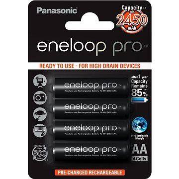 Panasonic eneloop pro AA NiMh 2500mAh 4ks