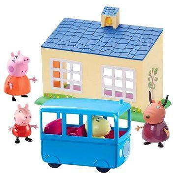 TM Toys Peppa Pig Škola a školní autobus