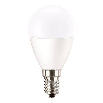 Philips Pila LED Kapka 3.2W-25W, E14, 2700K, Mléčná