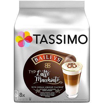 Jacobs Douwe Egberts TASSIMO Latte Macchiato Baileys 8 porcí cena od 108 Kč