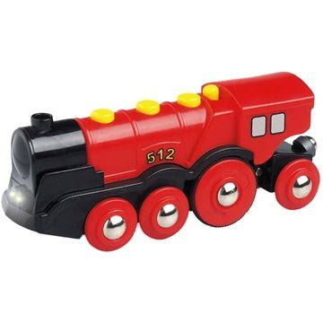 Brio World 33592 Mohutná červená akční lokomotiva