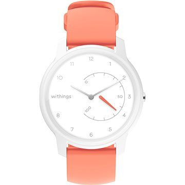 Withings Move - White / Coral cena od 1890 Kč