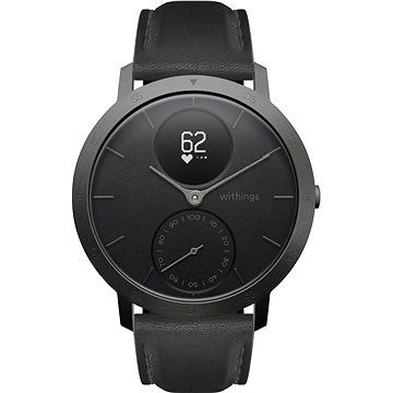 Withings Steel HR (40mm) LIMITED EDITION - Slate Grey / Black cena od 0 Kč
