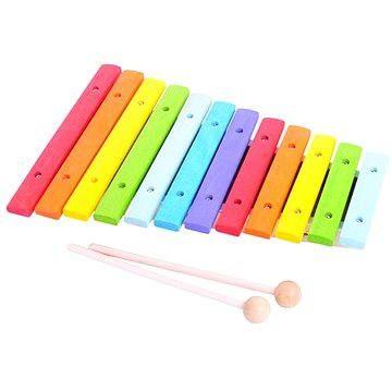 Bigjigs Dřevěný xylofón
