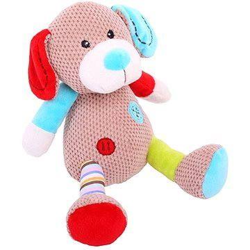 Bigjigs Textilní hračka - Pejsek Bruno