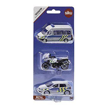 Siku Policejní sada 3 aut CZ