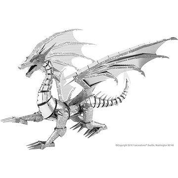 Piatnik Metal Earth BIG Silver Dragon ICONX