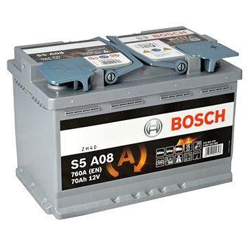 BOSCH S5A 080, 70Ah, 12V, AGM (0 092 S5A 080)