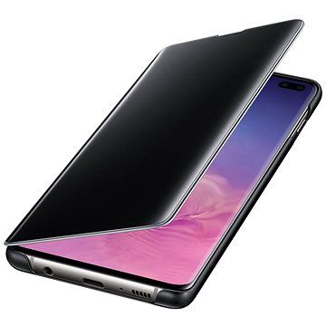 Samsung Galaxy S10+ Clear View Cover černý