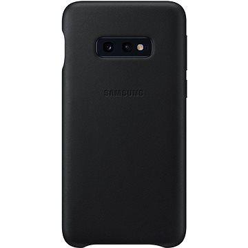 Samsung Galaxy S10e Leather Cover černý cena od 527 Kč