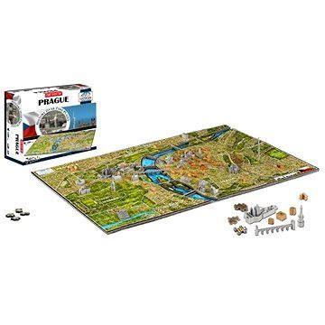 4D Puzzle 4D City - Puzzle Praha