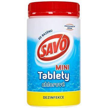 SAVO Chlorové tablety mini 0.9kg cena od 119 Kč