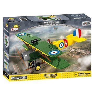 Cobi 2977 Great War AVRO 504 D7600 cena od 452 Kč
