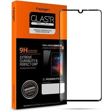Spigen Glass FC HD Black Huawei P30