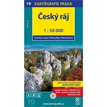 Kartografie PRAHA Český ráj 1:50 000 cena od 80 Kč