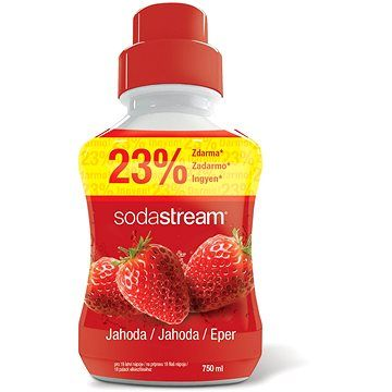 SodaStream Jahoda cena od 149 Kč