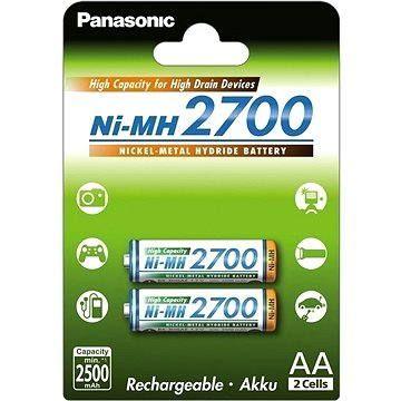 Panasonic NiMH AA 2700mAh 2ks (HR-3U-4BP