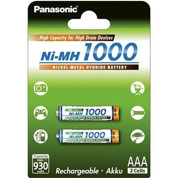 Panasonic NiMH AAA 930mAh 2ks (HR-4U-2BP