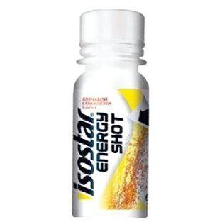 Isostar 60ml energy shot coffein, granát.jablko/jahoda