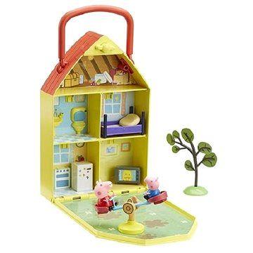 TM Toys Prasátko Peppa - Domeček se zahrádkou + figurka a příslušenství cena od 789 Kč