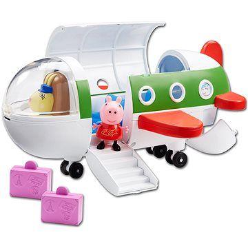 TM Toys Prasátko Peppa - Letadlo + figurka
