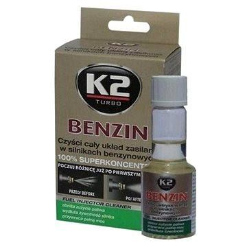 K2 turbo K2 BENZIN 50 ml - aditivum do paliva