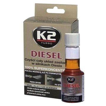 K2 turbo K2 DIESEL 50 ml - aditivum do paliva