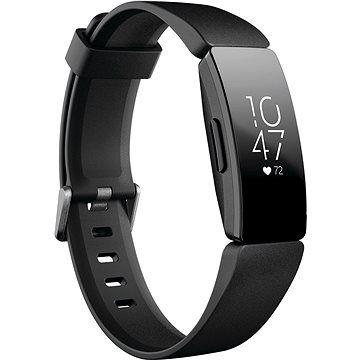 Fitbit Inspire HR - Black cena od 2449 Kč