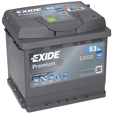 EXIDE Premium 53Ah, 12V, EA530