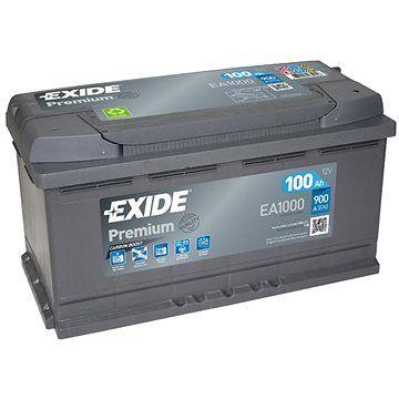 EXIDE Premium 100Ah, 12V, EA1000