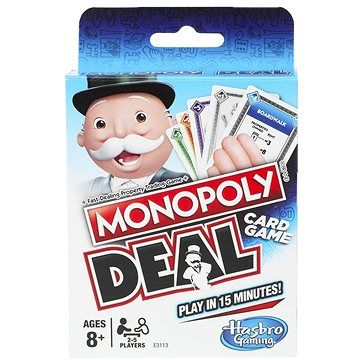 Hasbro Monopoly Deal CZ, SK