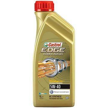 CASTROL EDGE Turbo Diesel 5W-40 TITANIUM FST 1 lt