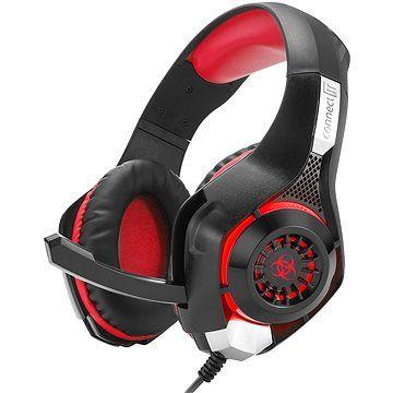 CONNECT IT CHP-4510-RD Gaming Headset BIOHAZARD červená
