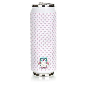 BANQUET Termoska BE COOL Owl 430 ml, růžová cena od 248 Kč