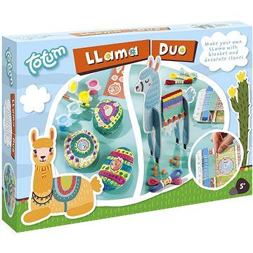 lowlands Lama duo 2v1 - dekorace kamenů a výroba deky