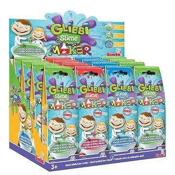 Simba Glibbi Slime Maker, 3 druhy, DP16