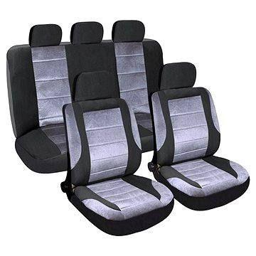Compass Potahy sedadel sada 9ks DELUXE vhodné pro boční Airbag