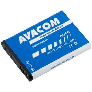 AVACOM pro Nokia 3220, 6070, Li-Ion 3.7V 890mAh (náhrada BL-5B)