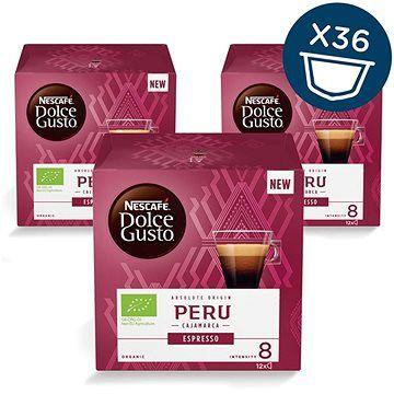 NESCAFÉ Dolce Gusto Peru Cajamarca Espresso 12ks x 3