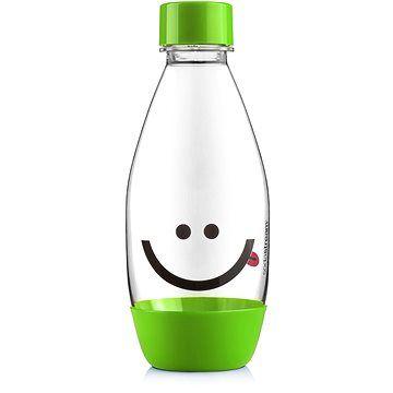 SodaStream Lahev dětská 0.5l Smajlík zelená cena od 121 Kč