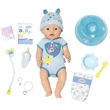 Zapf Creation BABY born - chlapeček