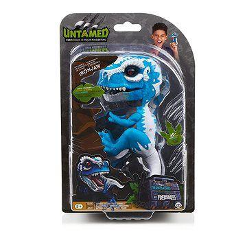 WOWWEE Fingerlings T-Rex Ironjaw modrý