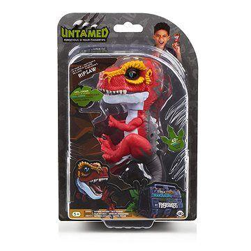 WOWWEE Fingerlings T-Rex Ripsaw červený