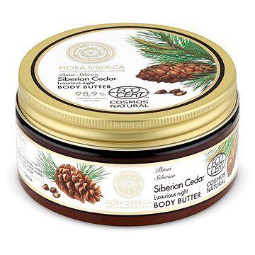 NATURA SIBERICA Flora Siberica Luxusní noční tělové máslo Sibiřský cedr 300 ml
