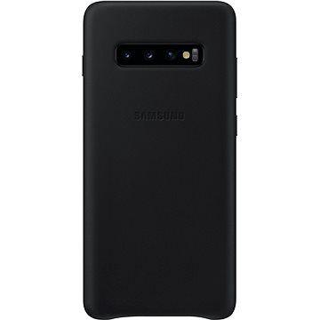 Samsung Galaxy S10+ Leather Cover černý