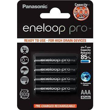 Panasonic eneloop pro AAA NiMh 900mAh 4ks