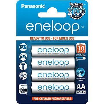 Panasonic eneloop AA 1900mAh 4ks