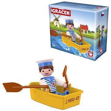 Igráček Námořník s lodičkou cena od 125 Kč