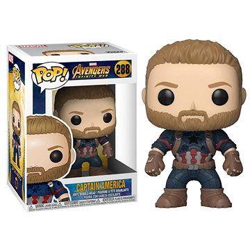 Funko Pop Marvel: Infinity War - Captain America