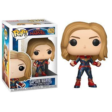 Funko Pop Marvel: Captain Marvel - Captain Marvel w/Chase